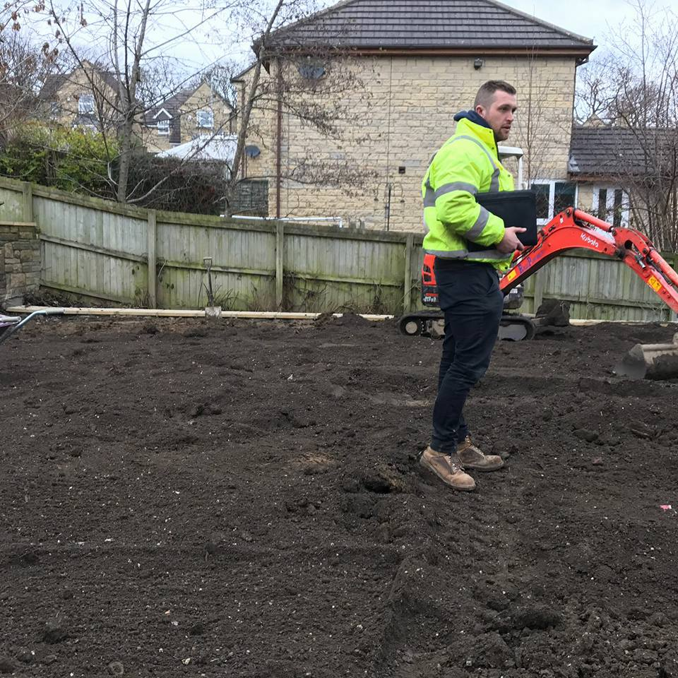 Garden Landscaping In Halifax Huddersfield West: Turf & Top Soil Supplied At New Housing Estate